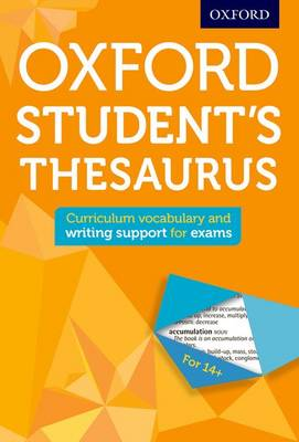Oxford Student's Thesaurus by Oxford Dictionaries