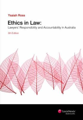 Ethics in Law by Ross