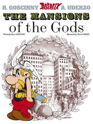 Asterix: The Mansions of The Gods book