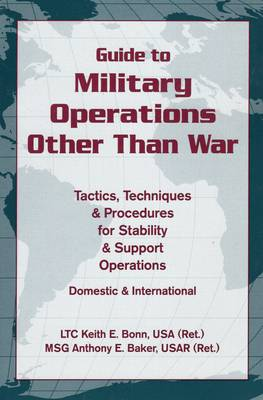 Guide to Military Operations Other Than War book
