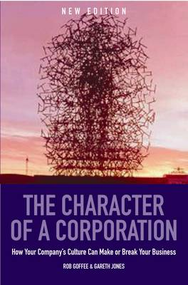 Character Of A Corporation by Gareth Jones