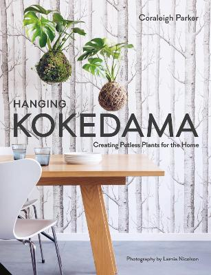 Hanging Kokedama by Coraleigh Parker