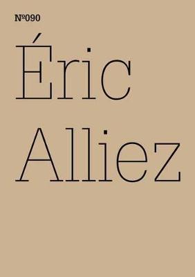 Eric Alliez: Diagramm 3000 [Worte] by Eric Alliez