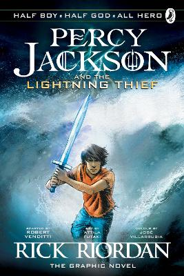 Percy Jackson and the Lightning Thief: The Graphic Novel (Book 1) by Rick Riordan