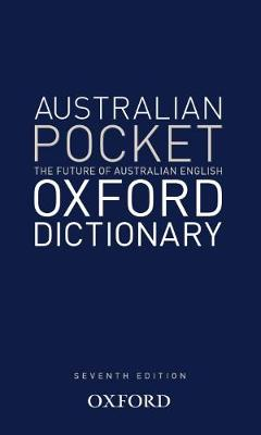Australian Pocket Oxford Dictionary by Oxford Dictionary