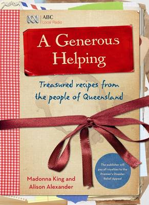 A Generous Helping by Madonna King
