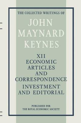 Economic Articles and Correspondence: Investment and Editorial: 1983 by D. E. Moggridge