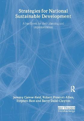Strategies for National Sustainable Development by Jeremy Carew-Reid