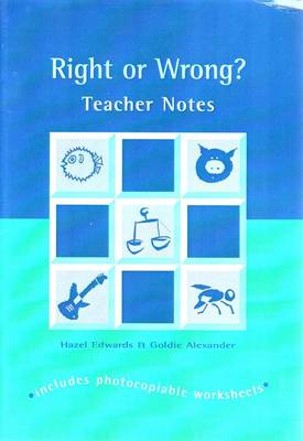 Right or Wrong Trb by Goldie Alexander