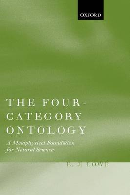 Four-Category Ontology by E. J. Lowe