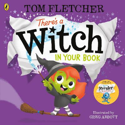 There's a Witch in Your Book book