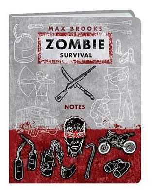Zombie Survival Notes Mini Journal book