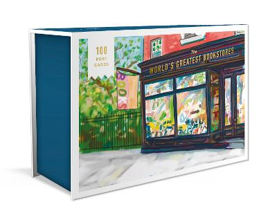 World's Greatest Bookstores,The: 100 Postcards by Bob Eckstein