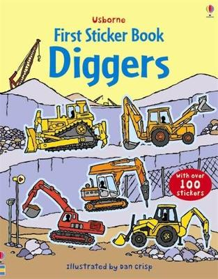 Diggers Sticker Book by Sam Taplin