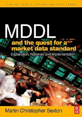 MDDL and the Quest for a Market Data Standard book