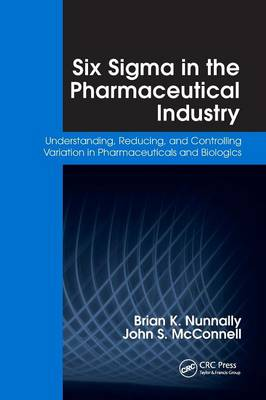 Six Sigma in the Pharmaceutical Industry book