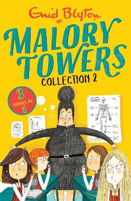 Malory Towers Collection 2: Books 4-6 by Enid Blyton