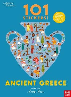 British Museum 101 Stickers! Ancient Greece by Sophie Beer
