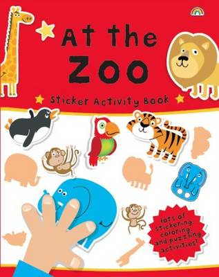Sticker Activity Book at the Zoo by The Boy Fitz Hammond