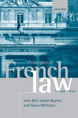 Principles of French Law book