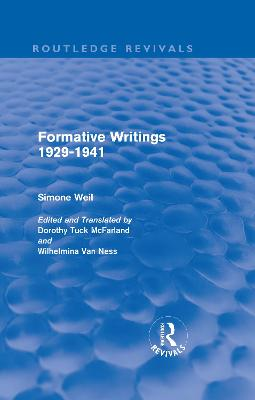 Formative Writings book