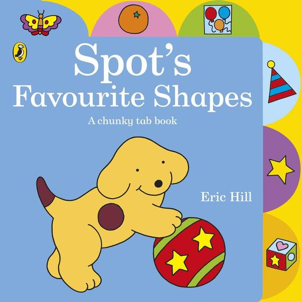 Spot's Favourite Shapes Chunky Tab Book book