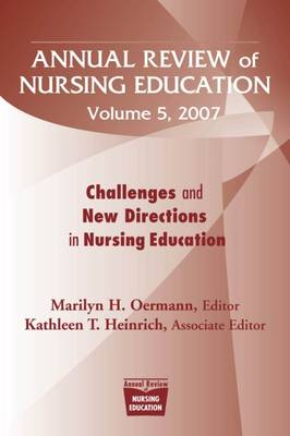 Annual Review of Nursing Education book