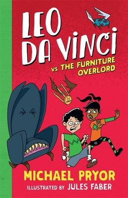 Leo Da Vinci vs The Furniture Overlord book
