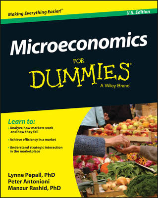 Microeconomics For Dummies by Lynne Pepall