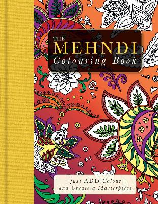 Mehndi Patterns Colouring Book by Beverley Lawson