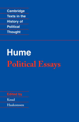 Hume: Political Essays by David Hume