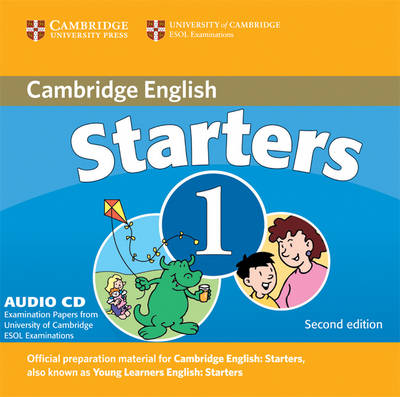 Cambridge Young Learners English Tests Starters 1 1 Audio CD book