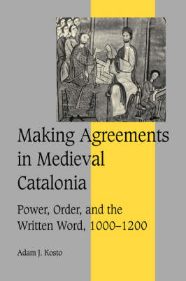 Making Agreements in Medieval Catalonia book