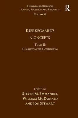 Kierkegaard's Concepts book