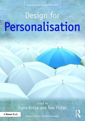 Design for Personalisation book