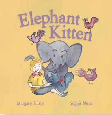 Elephant Kitten by Margaret Evans
