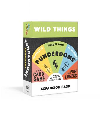 Punderdome Wild Things Expansion Pack: 50 Cards Toucan Add to the Core Game by Jo Firestone