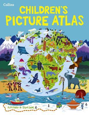 Collins Children's Picture Atlas by Steve Evans
