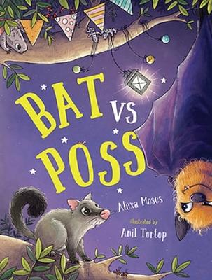 Bat vs Poss: A story about sharing and making friends book