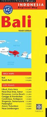 Bali Travel Map by Periplus Editions