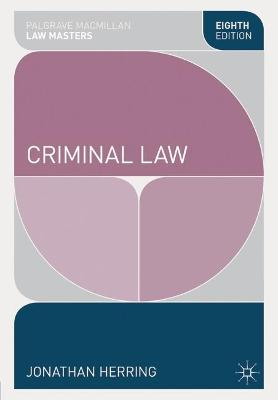 Criminal Law by Jonathan Herring