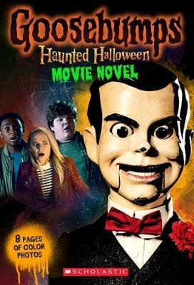 Goosebumps Haunted Halloween Movie Novel book
