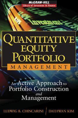 Quantitative Equity Portfolio Management by Ludwig B. Chincarini