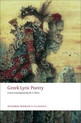 Greek Lyric Poetry by M. L. West