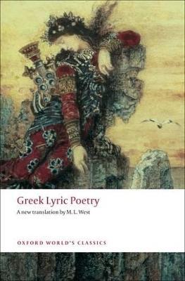 Greek Lyric Poetry book