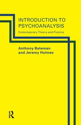 Introduction to Psychoanalysis book