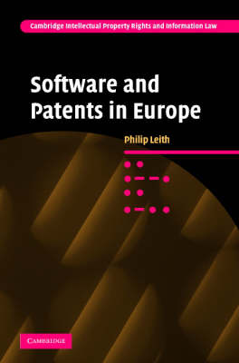 Software and Patents in Europe book