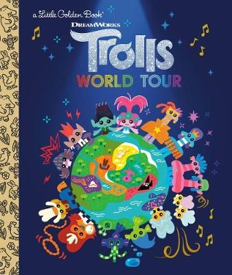 LGB Trolls World Tour Little Golden Book (DreamWorks Trolls World Tour) by David Lewman