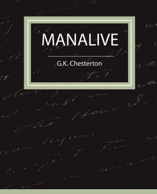 Manalive by G. K. Chesterton