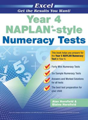 Naplan* Style Numeracy TST Yr 4 by